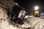 Nieve… peligro accidente bus Exfiliana. Valle del Zalabí. foto: TorcuatoFandila