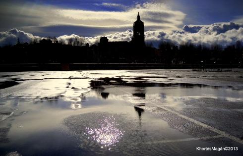 Guadix reflejos tras la tormenta