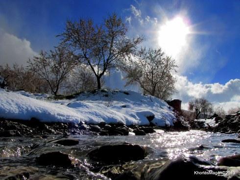 Nieva en Acci