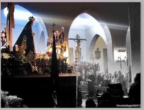 Guadix. Semana Santa 2013 Sábado. ...Pésame...