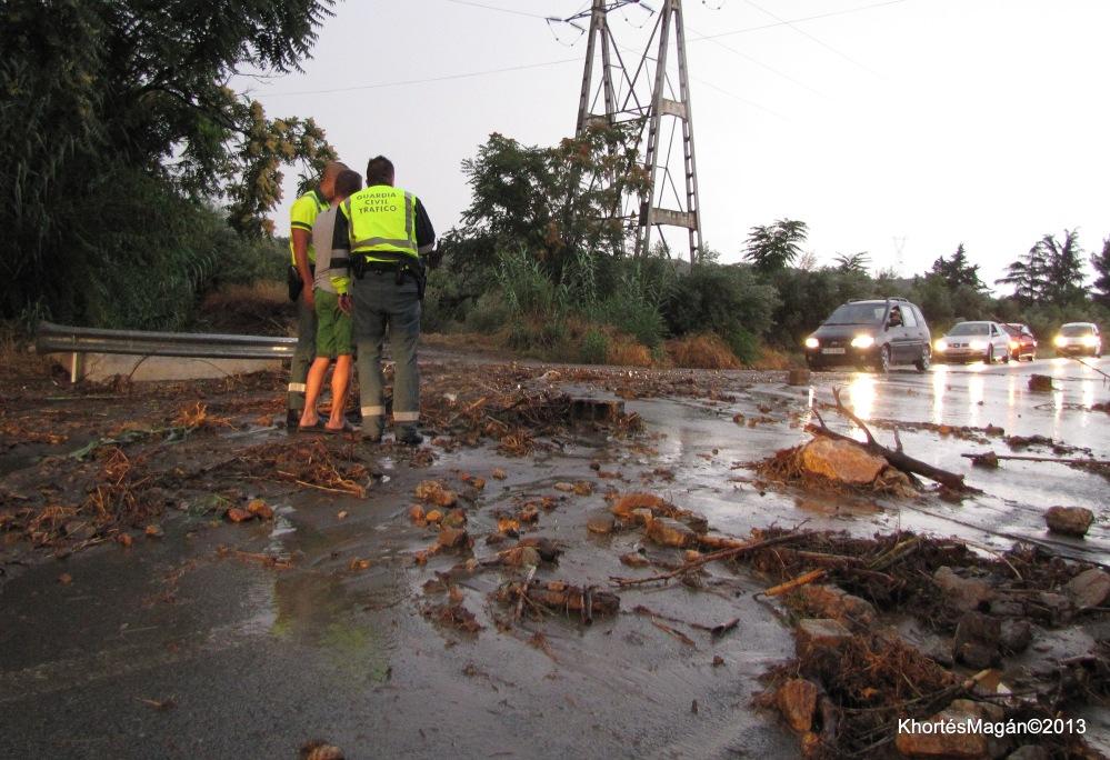 Tormenta, inundaciones en Guadix y Comarca.29.08.2013 xTorcuatoFandila-KhortésMagán©2013 (1/5)