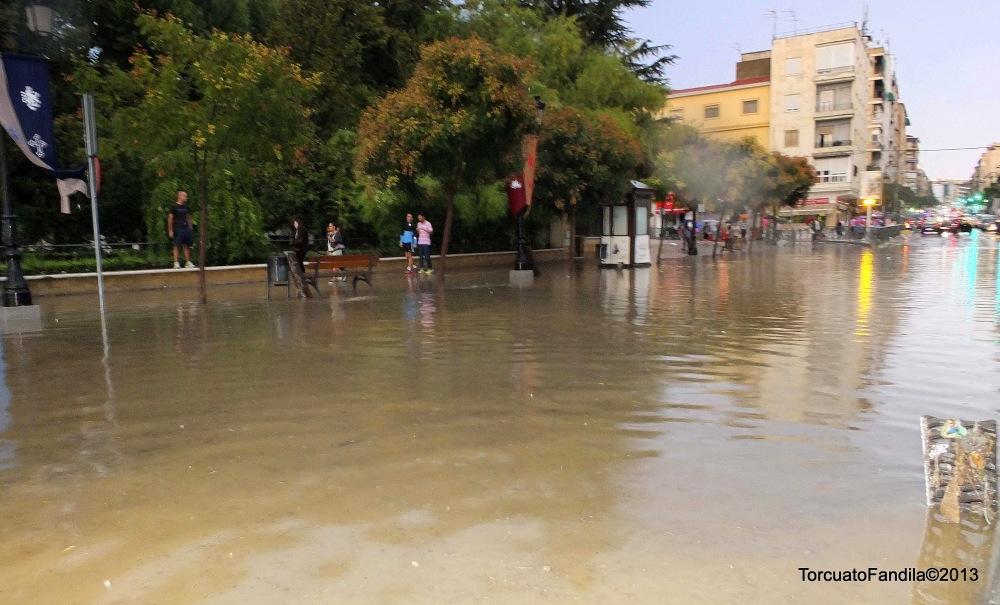 Tormenta, inundaciones en Guadix y Comarca.29.08.2013 xTorcuatoFandila-KhortésMagán©2013 (5/5)