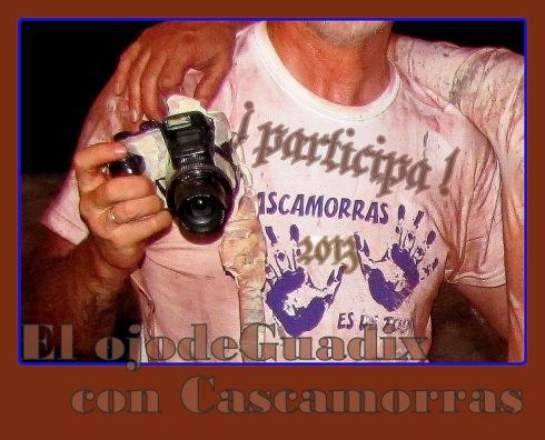 El OJO DE GUADIX con CASCAMORRAS 2013