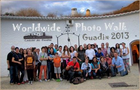 Paseo foto música Guadix