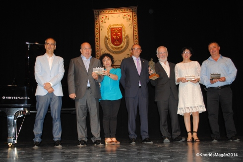 PREMIOS PEDRO ANTONIO DE ALARCÓN Y CIUDAD DE GUADIX PERIODISMO 2014     PA ALARCON GX14. FORGES xKhortes 130