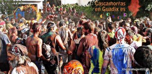 Cascamorras salida Estación de Guadix